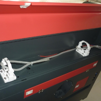 Miejsce instalacji tuby lasera co2