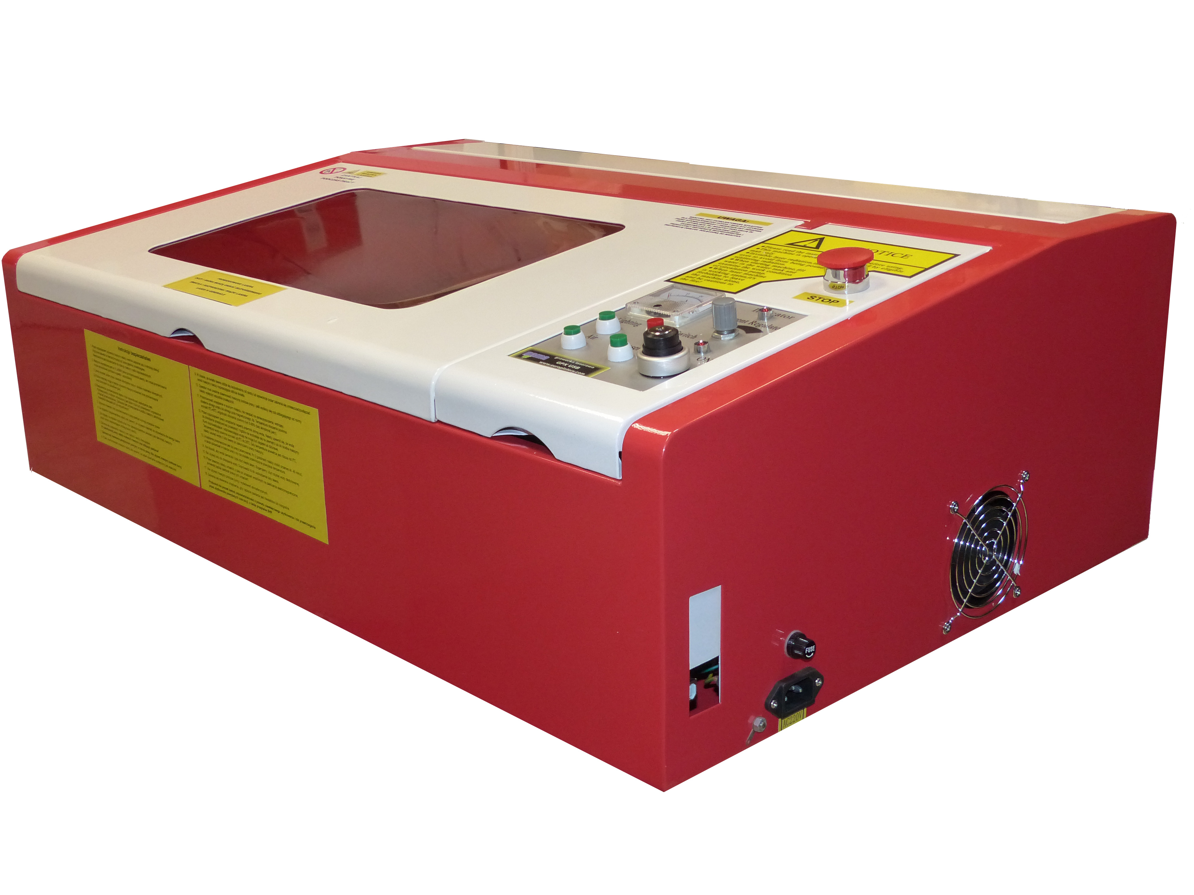 Góra Laser do pieczątek grawerka do wycinania papieru GPX - Plotery RZ03
